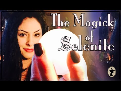 The Magick of Selenite ~ The White Witch Parlour