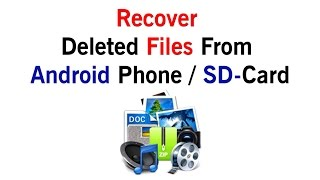 How To Recover Deleted Files - iSkysoft Toolbox for Android