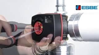 видео Клапан смесительный серии ESBE VRG 131