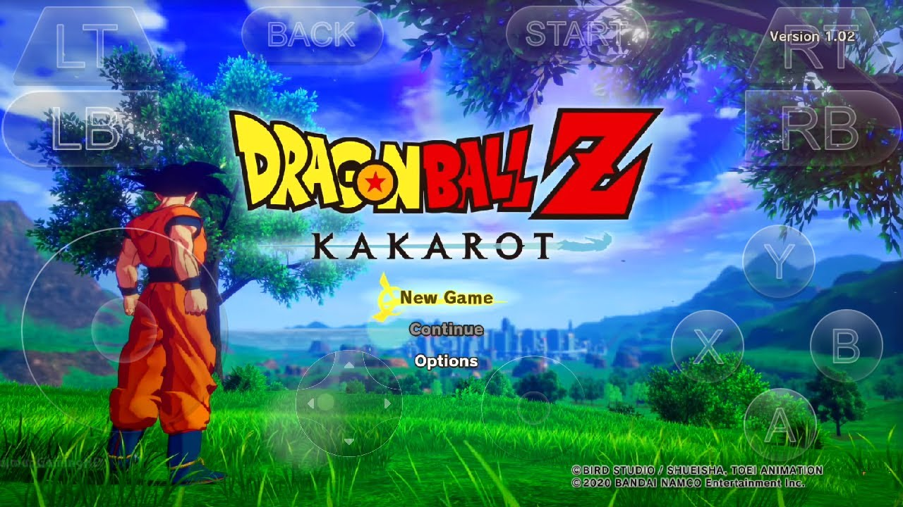 Dragon ball z android game apk