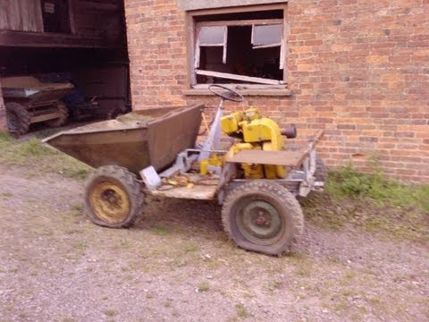 Old Dumper With Petter Engine Comes Back To Life