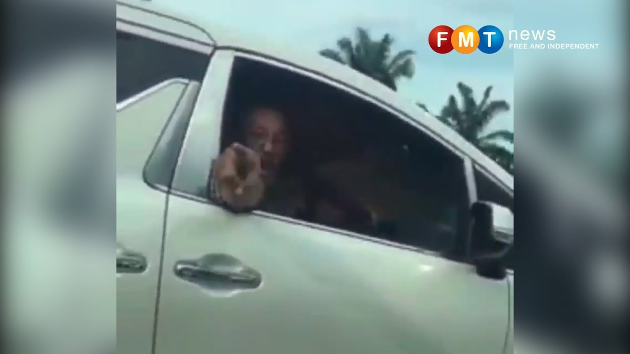 Anggota Rela digantung jawatan gaduh di lebuh raya