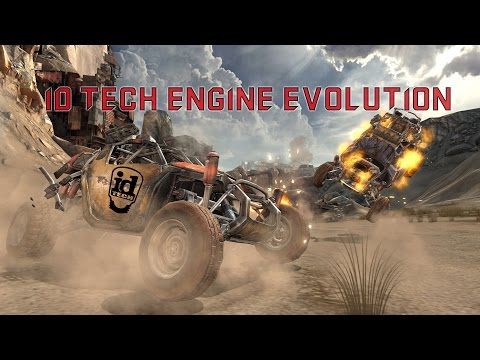 ID Tech Game Engine Evolution (1992-2016)