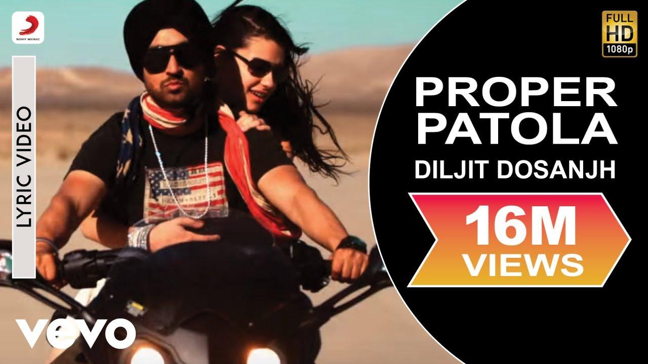 Download Diljit Dosanjh - Proper Patola Lyric   Badshah ft. Badshah