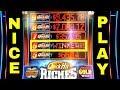Quick Hit Riches Slot Machine Max Bet Bonuses & 6 Quick Hits Won | GREAT  SESSION | Live Slot Play