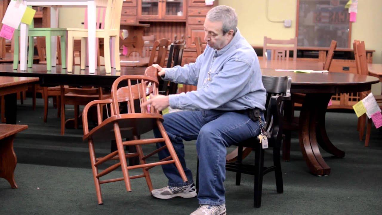 Barn Furniture Original Caboose or Saloon Chair