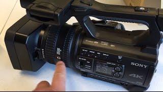 Sony PXW-Z150 Unboxing