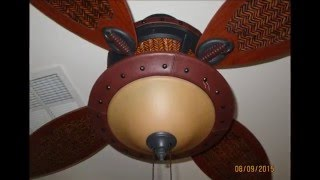 Hunters: Berkely and Royal Palm/Seville ceiling fans (HD remake)