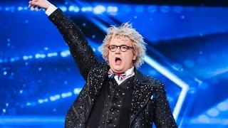 Funny Magician Auditions Britain's Got Talent 2017