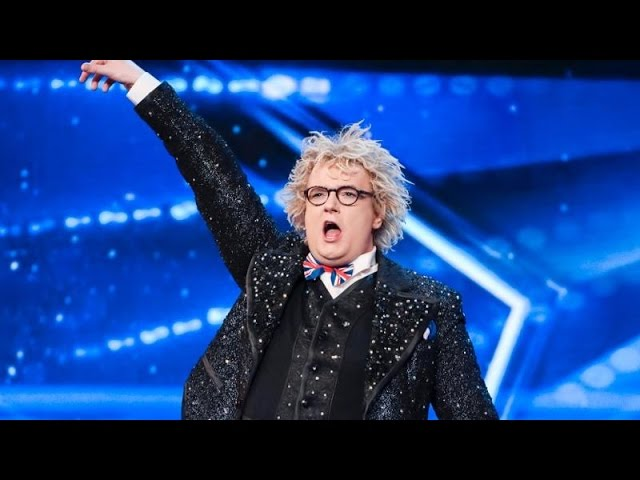 Funny Magician Auditions Britain S Got Talent 2017