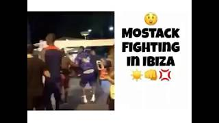British Grime Artist Mostack Fighting in Ibiza