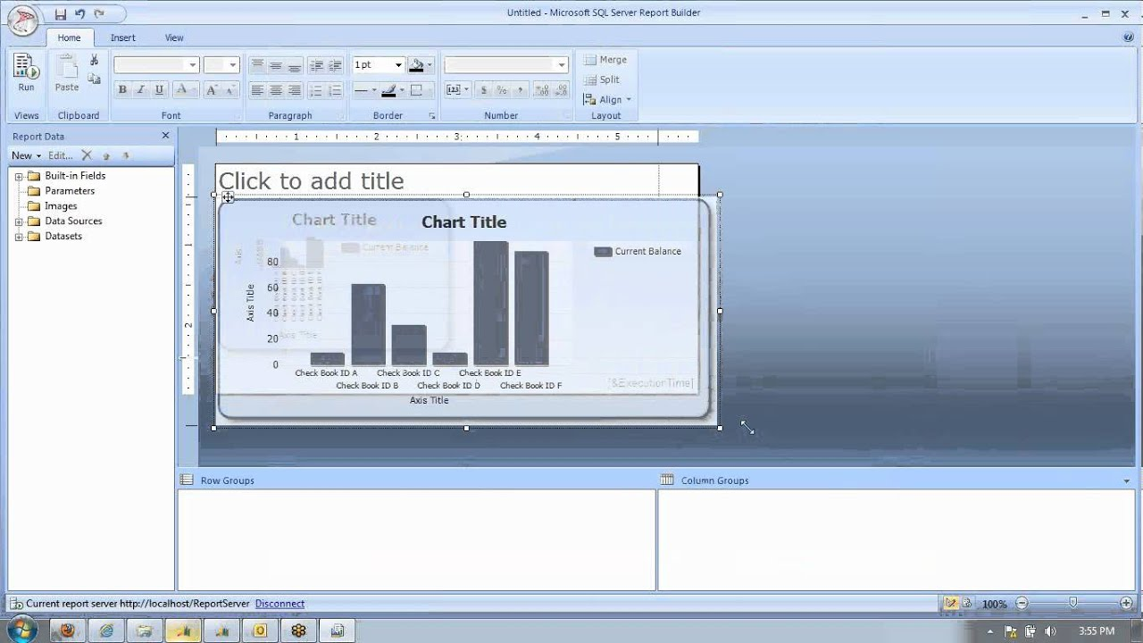 creating executive dashboards with sql server report builder youtube sql report writing - Sql Report Writing