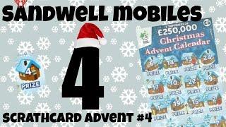 Sandwell mobiles Scratchcard christmas advent calendar day 4