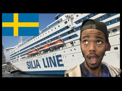 Tallink Cruise Boat From Estonia to Sweden