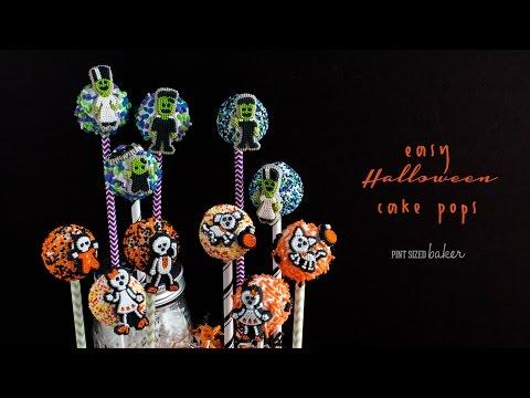 Easy Halloween Cake Pops Video