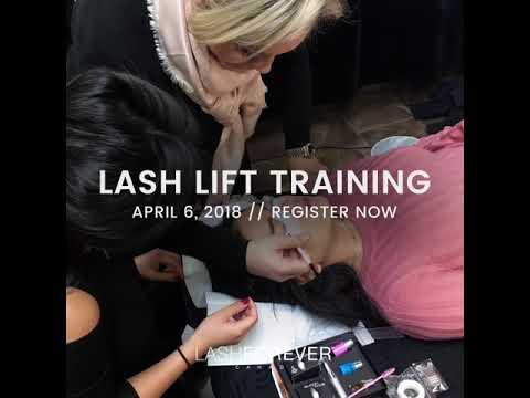 lash lift april 6