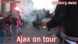Video Gol Pertandingan Red Bull Salzburg vs Ajax Amsterdam