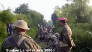 Somme Battlefield; WW1 Redan Ridge Serre Thiepval January 2010