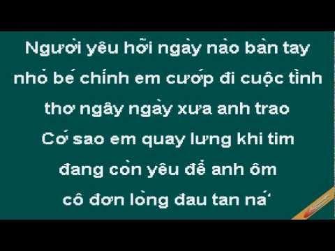 Chuc Em Hanh Phuc Karaoke - Vân Quang Long - CaoCuongPro