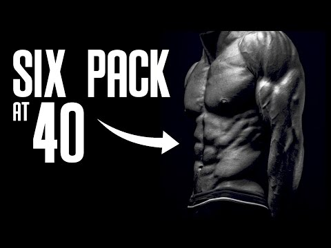 Men Over 40 with Six Pack Abs