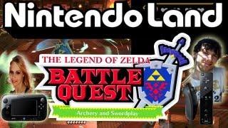 Let's Play Nintendo Land Part 5: The Legend of Zelda Battle Quest - Quest 7-9