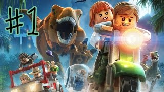 Ethan plays LEGO: Jurassic World (#1) | KID GAMING