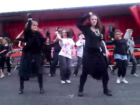 Halloween Dance At Point Village Market, Dublin