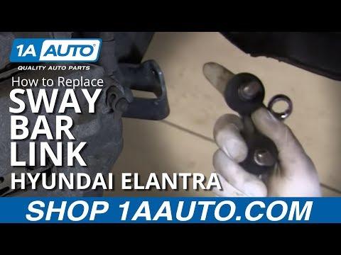 How to Replace Sway Bar Link 01-06 Hyundai Elantra