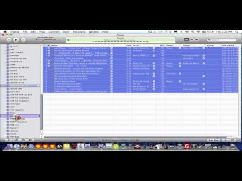 How to Burn a mp3 cd on itunes