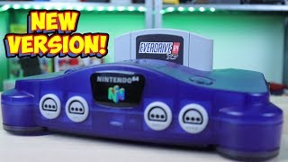 New Nintendo 64 Flashcart - Everdrive 64 X7! Review & Teardown!