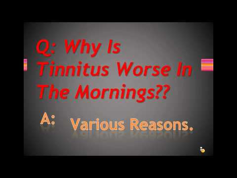 why-is-tinnitus-worse-in-the-morning?
