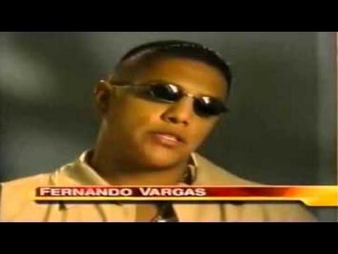 Fernando Vargas shows signs of brain damage (very punch drunk).