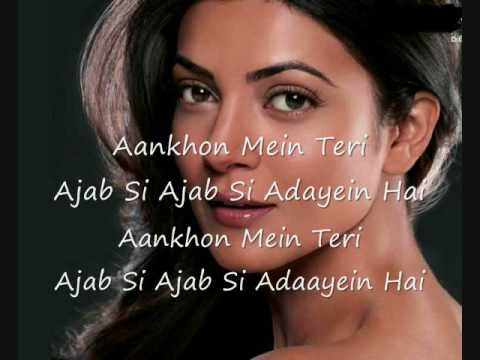hindi song - Ajab Si hindi+english Lyrics