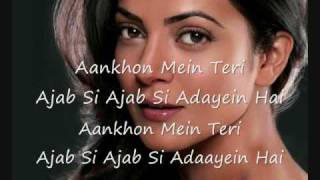 hindi song - Ajab Si hindi+english Lyrics