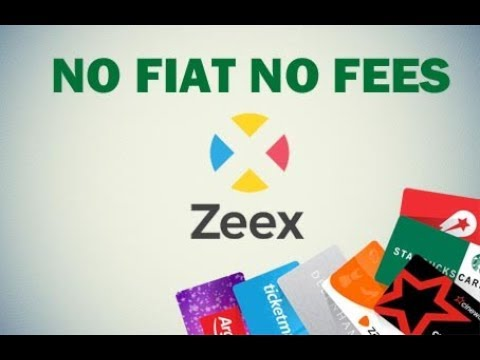 SWAP YOUR CRYPTO FOR GIFTCARDS - NO FIAT NO FEES - ZEEX