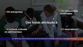 Yvelines | Un demi-milliard d'euros du plan de relance reversé dans les Yvelines en un an