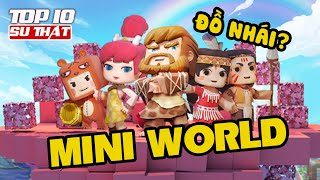 Top 10 Thú Vị - Game Mini World - Block Art
