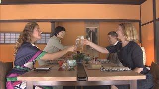 高校生レストラン、海女と交流 サミット参加首脳の配偶者ら