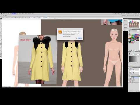 Stardoll at work - Dress design finish