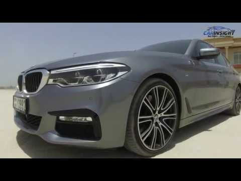 Bmw 5 Series Test Drive Review Uae Youtube