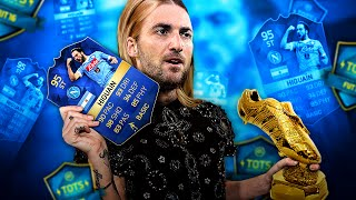 Omg 95 tots higuain and the tots serie a dream team! fifa 16 ultimate team