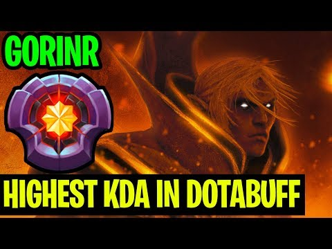 51 KDA MATCH HIGHEST KDA IN DOTABUFF INVOKER - GorinR - Dota 2 thumbnail