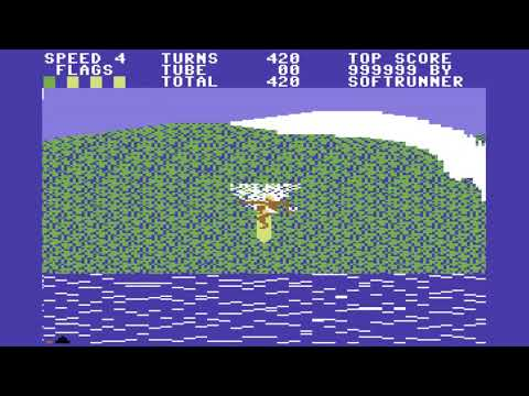 C64 Game: Surfer