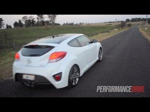 2012 Hyundai Veloster SR Turbo engine sound and 0 100km h