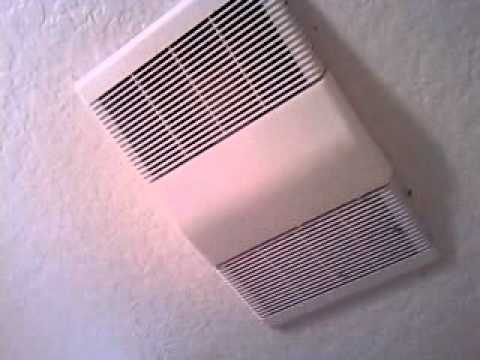 Nutone Heater Bath Fan Youtube