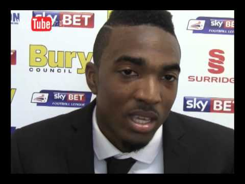 Bury FC: Marlon Jackson