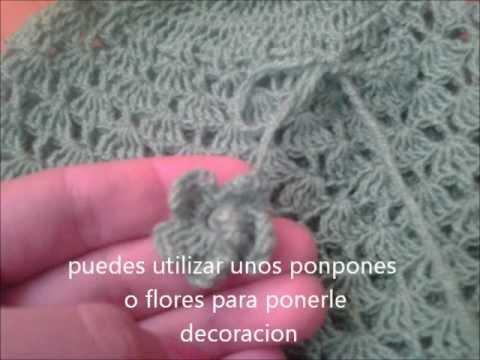 gorro o boina en crochet para niños - YouTube