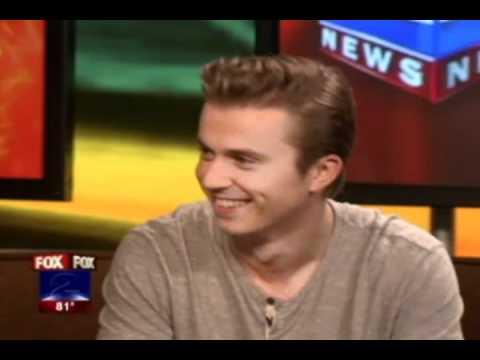 Kenny Wormald and Craig Brewer on Fox2 Detroit (9/3/11)