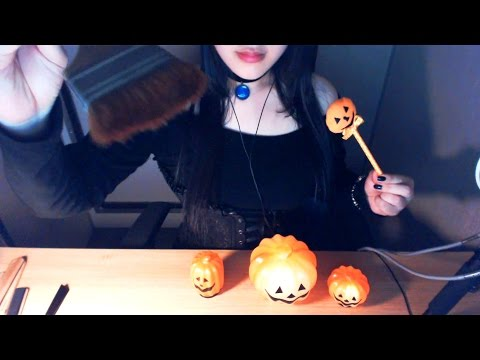 (SUB) ASMR Korean Halloween Witch RP & Mic brushing 할로윈의 마녀