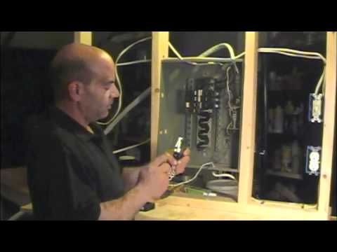 120v Receptacle Wiring How To Install A Arc Fault Circuit Breaker Interrupter